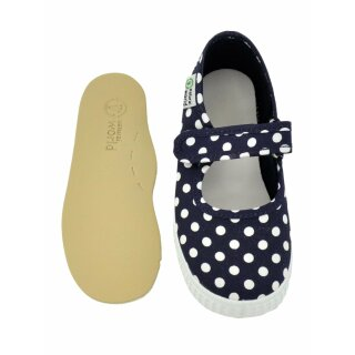 Natural World Kinder Spangenschuh 56088 marino