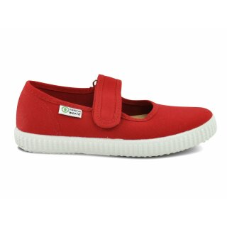 Natural World Kinder Spangenschuh 56000 rojo