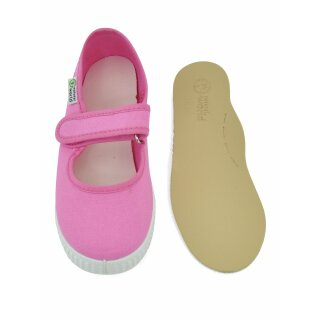 Natural World Kinder Spangenschuh 56000 rosa esp